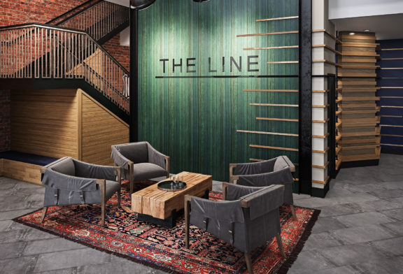 Lobby at The Line